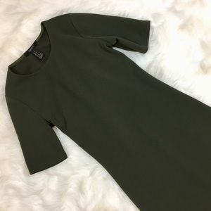 Forever 21 Bodycon stretch dress, Olive Green